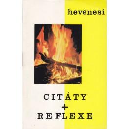 Citáty a reflexe - Gabriel Hevenesi