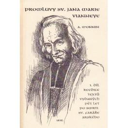 Promluvy sv. Jana Vianneye 1. díl - A. Monnin