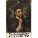 Cyrilometodějský kalendář 1993