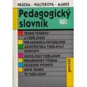 Pedagogický slovník - Jan Průcha, Eliška Walterová, Jiří Mareš