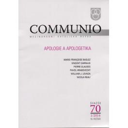 Communio 2014/1 - Apologie a apologetika
