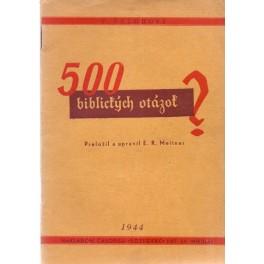 500 biblických otázok