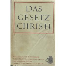 Das Gesetz Christi - Bernhard Häring