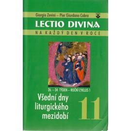 11 Všední dny liturgického mezidobí - Giorgio Zevini, Pier G. Cabra