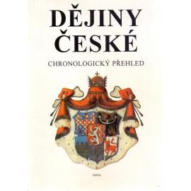 Dějiny české - chronologický přehled - Jaroslav Krejčíř, Ing. Stanislav Soják