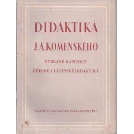 Didaktika J. A. Komenského