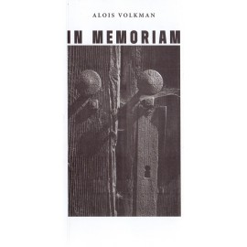 In memoriam - Alois Volkman