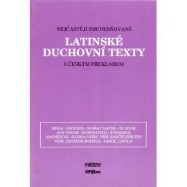 Latinské duchovní texty s českým překladem