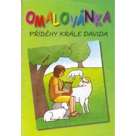 Omalovánka - Příběhy krále Davida
