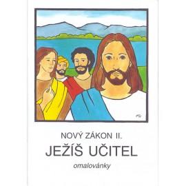Nový zákon II - Ježíš učitel - omalovánky