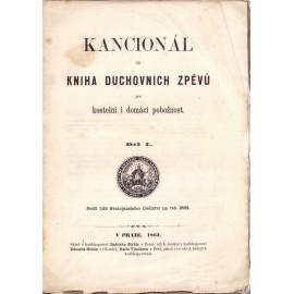 Kancionál I. díl (1863)