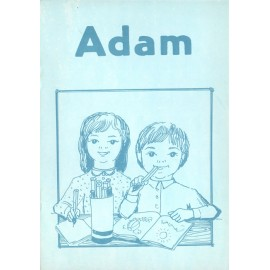 Adam - omalovánky