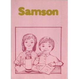 Samson - omalovánky
