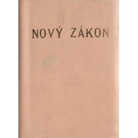 Nový zákon (Petrů, 1992, vel. 10,5 x 14,5 cm)