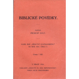Biblické povídky - Prokop Holý