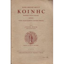Kurs obecné mluvy KOINHC