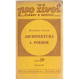Architektura a pokrok - Břetislav Štorm