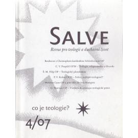 Salve 4/07 co je teologie?