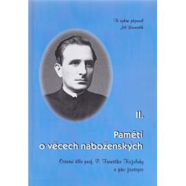 Paměti o věcech náboženských II. - František Koželuh