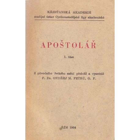 Apoštolář I. část