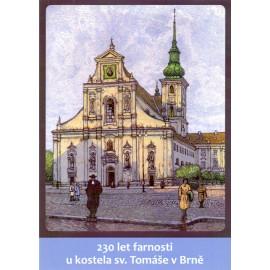 230 let farnosti u kostela sv. Tomáše v Brně