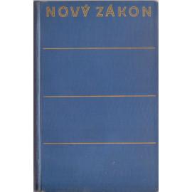 Nový zákon (Žilka, vel. 12 x 17,5 cm) 1933