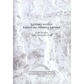 Latinská slovesa řazená dle perfekta a skupina podle slovníku Kábrt, Kucharský a kol.