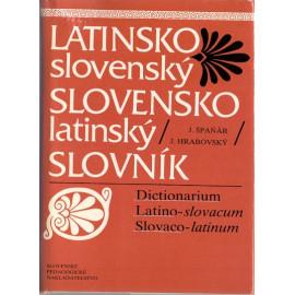 Latinsko-slovenský Slovensko-latinský slovník - J. ŠpaŇár, J. Hrabovský