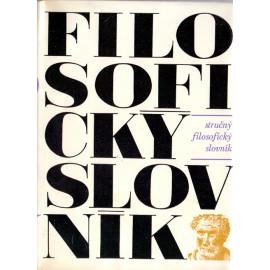 Stručný filosofický slovník