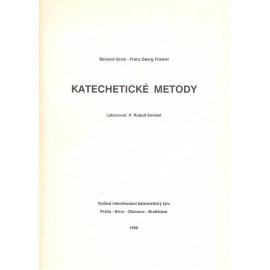 Katechetické metody - Bernard Grom, Franz Georg Friemel (1990)