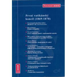 Teologický sborník 1/2000 - První vatikánský koncil (1869 - 1870)