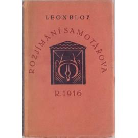 Rozjímání samotářova r. 1916 - Leon Bloy