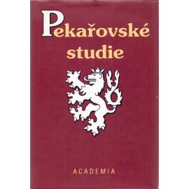 Pekařovské studie - Eva Kantůrková (ed.)