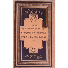 Bezejmenná historie Stránka historie - Jules Barbey D´Aurevilly (váz.)