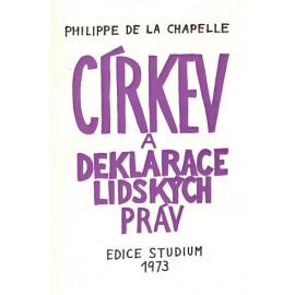 Církev a deklarace lidských práv - Philippe de la Chapelle