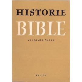 Historie Bible - Vladimír Čapek (1952)