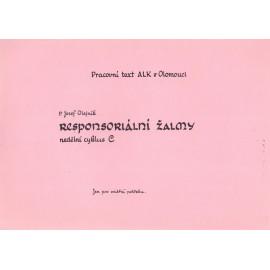 """Responsoriální žalmy """"C"""" - Josef Olejník (brož.)"""