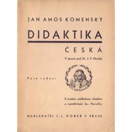 Didaktika česká - Jan Amos Komenský