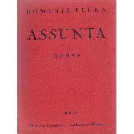 Assunta - Dominik Pecka (1930) brož.