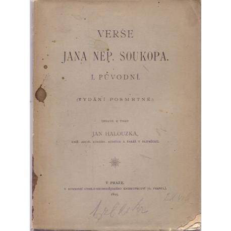 Verše Jana Nep. Soukopa