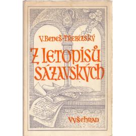 Z letopisů sázavských - Václav Beneš Třebízský (1953)