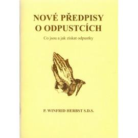 Nové předpisy o odpustcích - P. Winfrid Herbst S.D.S. (2013)