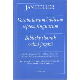 Biblický slovní sedmi jazyků - Jan Heller