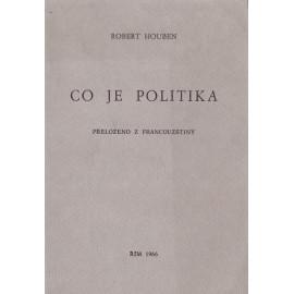 Co je politika - Robert Houben