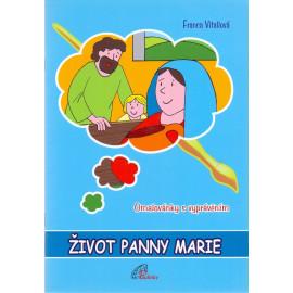 Život Panny Marie - omalovánka s vyprávěním - Franca Vitaliová
