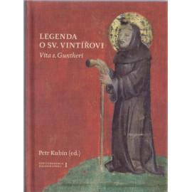 Legenda o sv. Vintířovi - Petr Kubín (ed.)
