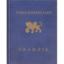 Okamžik - Soren Kierkegaard (1911) váz.