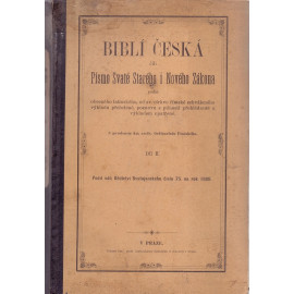 Biblí česká díl II.