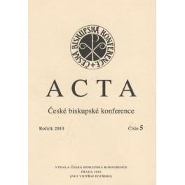 Acta - ročník 2010, číslo 5