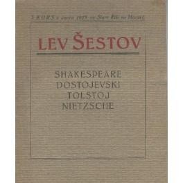 3. kurs v únoru 1923 ve Staré Říši na Moravě - Lev Šestov